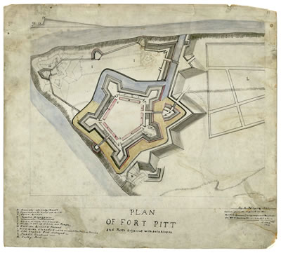 Plan of Fort Pitt