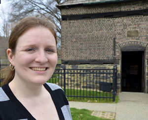 "Emily Weaver - author ""The Fort Pitt Block House"""